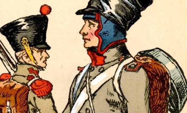 THE CAPOTE OF THE FRENCH INFRANTRYMAN AT THE END OF THE EMPIRE (2) THE REALITY