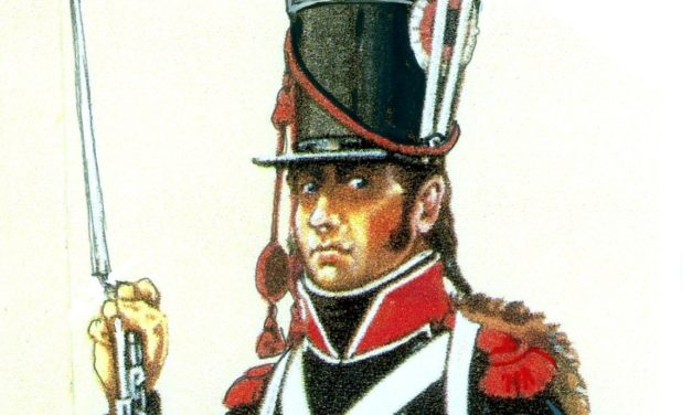 FRENCH LIGHT INFANTRY IN GERMANY ABOUT 1806-1807