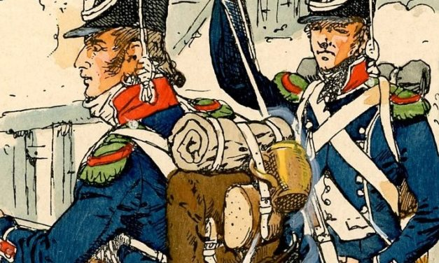 DE L'INFANTERIE LEGERE FRANCAISE EN ALLEMAGNE, VERS 1806 – COMPLEMENT