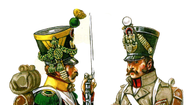 THE FRENCH INFANTRY NON-COMMISSIONNED OFFICERS AT THE END OF THE NAPOLEONIC WARS