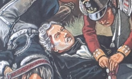 LA MORT DE PICTON A WATERLOO