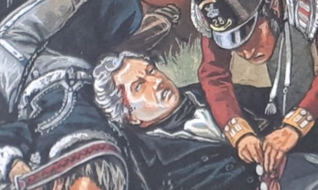 LA MORT DE PICTON A WATERLOO