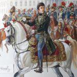 BONAPARTE, PRESIDENT DE LA REPUBLIQUE ITALIENNE vers 1802/1803