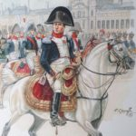 NAPOLEON COLONEL DE LA GARDE NATIONALE DE PARIS – FIN JANVIER 1814