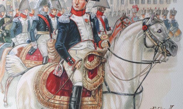 NAPOLEON COLONEL DE LA GARDE NATIONALE DE PARIS – FIN JANVIER 1814